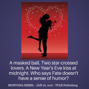 A masked ball. Two star-crossed lovers. A New Year's Eve kiss at midnight. Who says Fate doesn't have a sense of humor-
