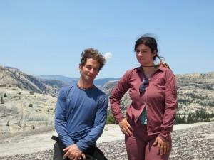 Jon-Paul Salonen and Ruth Smiley in Yosemite National Park