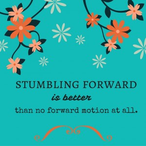 Stumble on