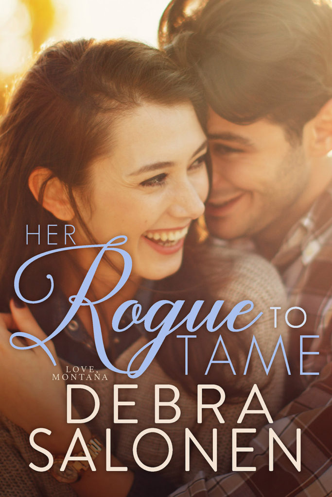 First Kiss=Tuesday from HER ROGUE TO TAME by Debra Salonen